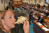 """Senátoři si """"brousí zuby"""" na protikuřácký zákon. Jaké chystají změny?"""