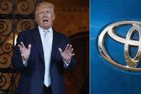Trump opět hrozí vysokými cly na dovoz aut z Mexika. Po GM má na mušce Toyotu