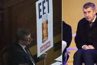 Že Babiš o udavačském webu EET nevěděl? Blesk mu osvěžil paměť textovkou