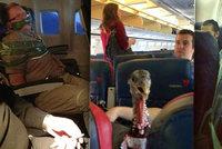 Divnolidi v letadle: Nejvtipnější pasažéři, které můžete za letu potkat!