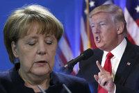 Trump se ve stejný den spojí s Merkelovou a Putinem. Kdo bude první?