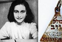 Přívěšek, který nosila i Anna Franková: Nečekaný objev pod troskami plynové komory