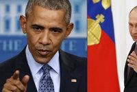 Obama se loučil s novináři: Víc než Trumpa kritizoval Putina