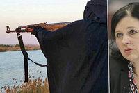 Ženy verbují mladé muže k teroru. Jourová popsala novou taktiku džihádistů