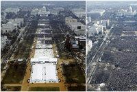 Trump zuří ze srovnání s Obamou. Bílý dům: Jmenování sledovala celá zeměkoule