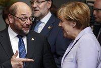Merkelová je povýšenecká a nemá plán pro Dieselgate, míní protivník Schulz