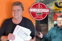Co dělat, když balík nebo dopis nedorazí? Za zpožděný dopis jsem dostal peníze zpět, raduje se Vladimír (65).