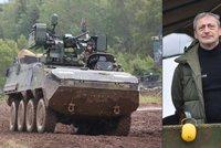 Armáda koupila 20 nových pandurů. Stojí o 800 milionů víc, než se plánovalo