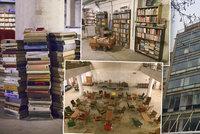 Pro knihu za 5 Kč nebo za kulturou: Zchátralý Dům uměleckého průmyslu v Národní ožívá