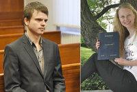 Vraha z arboreta hlídali u soudu těžkooděnci: 18 let přijal s kamennou tváří. Matka ho hájí