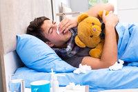 Češi prostonali loni 70 milionů dnů. Doma se každý z nich léčil v průměru víc jak měsíc