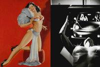 V Anglii se dražila erotika: Známá umělecká díla vynesla 167 milionů