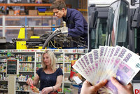 S minimální mzdou 11 tisíc korun nikoho neohromíme. Víc berou i Slováci