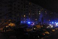 Požár paneláku v Jirkově: V plamenech zemřeli otec se synem!