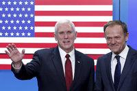 Trumpův muž u šéfa Evropské rady: Zaznělo jméno Havla a dohoda o spolupráci