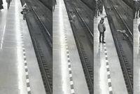 Hrdina zachránil chlapce (8), který spadl na koleje metra. Riskoval vlastní život