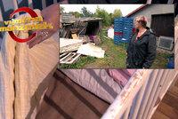 Výměna manželek: Tady žijou prasata! Špinavá postýlka pro miminko, plíseň a špína