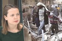 """""""Kolega zemřel při odstřelování,"""" svěřila se euroúřednice o práci v Sýrii"""