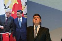 Zemanovo duo Nejedlý a Mynář na tajné cestě do Číny. Platíme ji z daní