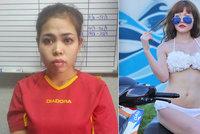 Podezřelá z vraždy Kimova bratra: Obličej jsem mu měla potřít dětským olejem