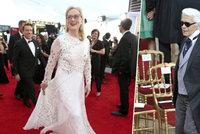 Oscarový skandál: Meryl Streep chtěla peníze za to, že obleče šaty od Chanelu