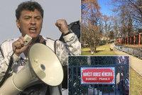 """Náměstí před ruskou ambasádou ponese jméno po zavražděném Němcovovi. """"Rusové to uvítají,"""" myslí si primátor"""