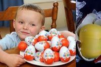 Tohle jste o kinder vajíčku nevěděli: Proč je jeho vnitřek žlutý?