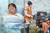 Kamioňačka Babáková z Ordinace umírala 9 hodin: Herečka Zawadská pak musela do nemocnice