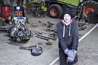 Daniel dělal úkol z dějepisu: Našel stíhačku z války i s kostrou pilota