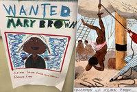 """""""Kupte si dvanáctiletou Anne!"""" Děti kreslily reklamní plakáty na dražbu otroků"""