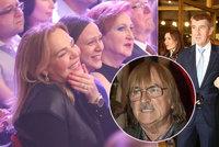 Karel Vágner oslavil 75. narozeniny ve velkém: Dorazila Havlová, Babiš i bývalé manželky!