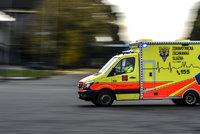 Tragická nehoda na Třebíčsku: Po srážce dvou náklaďáků zemřel řidič, druhý je v kritickém stavu