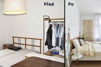 Proměna ložnice: z neútulného prostoru perfektní oáza klidu!