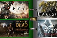 4 špičkové hry do sbírky, Xbox Live Gold se v dubnu předvede s AAA tituly