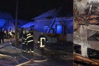 Při požáru uhořely tři děti (†5, †4, †2): Dalibor dostal podmínku