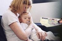 »Otec rekordman«: Na výživném za tři roky dluží svým třem dětem téměř 200 tisíc korun