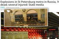 Krvavý útok v pražském metru? Indové si spletli Petrohrad s Prahou