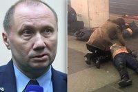 Strojvedoucího metra v Petrohradu oslavují jako hrdinu. Obětí útoku je už 14