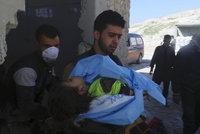 Lékaři bez hranic o chemickém útoku: Děti zabil nejspíš sarin a chlór