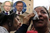 Útoky v dovolenkovém ráji Čechů: 45 mrtvých hnulo i se Sobotkou a Hermanem
