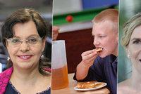 """Obědy pro chudé školáky: """"Některým chybí i základní návyky stolování,"""" říká Marksová"""