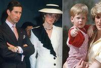 Princezna Diana dohnala Chalese k psychiatrům: Pokusila se i o sebevraždu