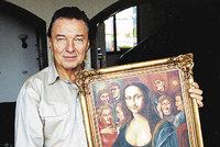 Gott v exekuci! Jeho obraz můžete dostat od deseti tisíc korun