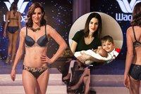 Moderátorka Sama doma Křížková  10 týdnů po porodu předvádí spodní prádlo! ec8ab1cd30