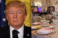 V Trumpově luxusní rezidenci našli nebezpečné jídlo. Hostil tu státníky