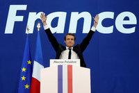 """Volby ve Francii: Macron """"pokořil"""" Le Penovou. Bude nejmladší prezident v Evropě"""