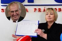 Ivana promluvila a zahájila sběr podpisů pro Zemana: Žena má následovat muže