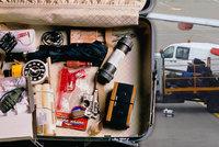 Letiště Praha zavádí nové bezpečnostní opatření: V kufrech budou hledat bomby