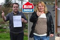 Revoluční projekt BLESK energie: Zákazníci ušetřili za energie a ještě dostali tisíce!