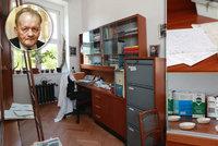 Pracovna legendárního českého výzkumníka Antonína Holého (†75): Tady číhal na AIDS!